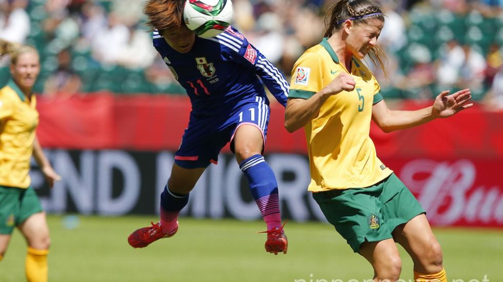 FIFA Women's World Cup Canada 2015: Australia 0-1 Japan