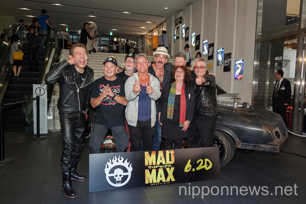 Mad Max: Fury Road Stage Greeting in Tokyo