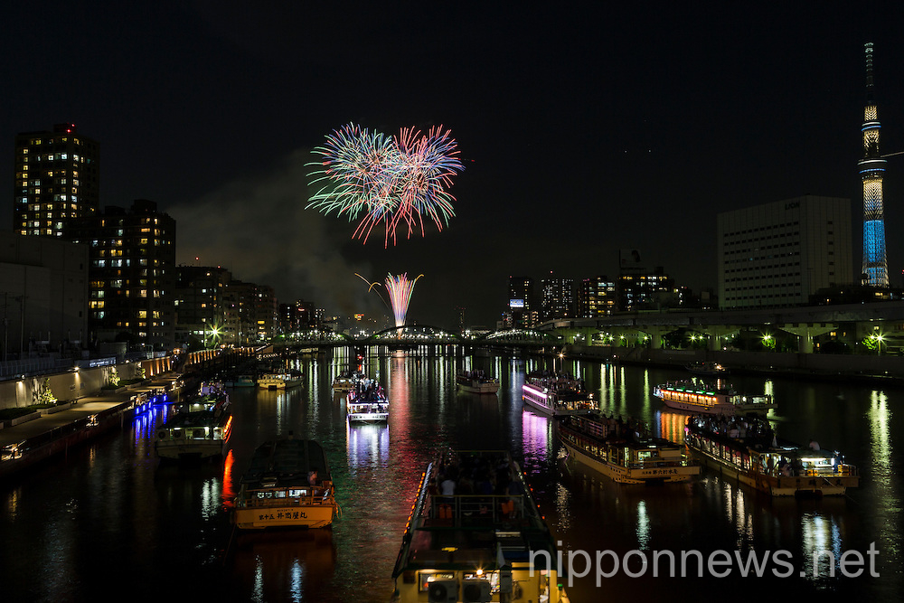 The 38th Sumida River Fireworks Festival