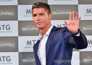 Cristiano Ronaldo Launches MTG Sixpad Fitness Training Products