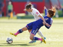 FIFA Women's World Cup Canada 2015 Semi-final: Japan 2-1 England