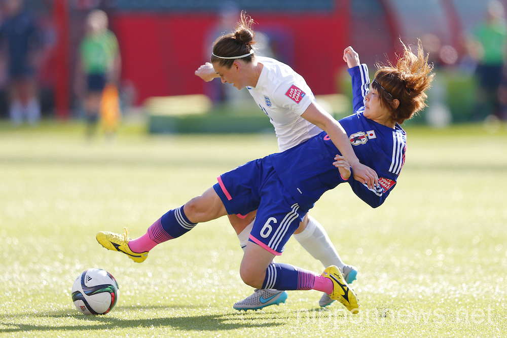FIFA Women's World Cup Canada 2015 Semi-final - Japan 2-1 England