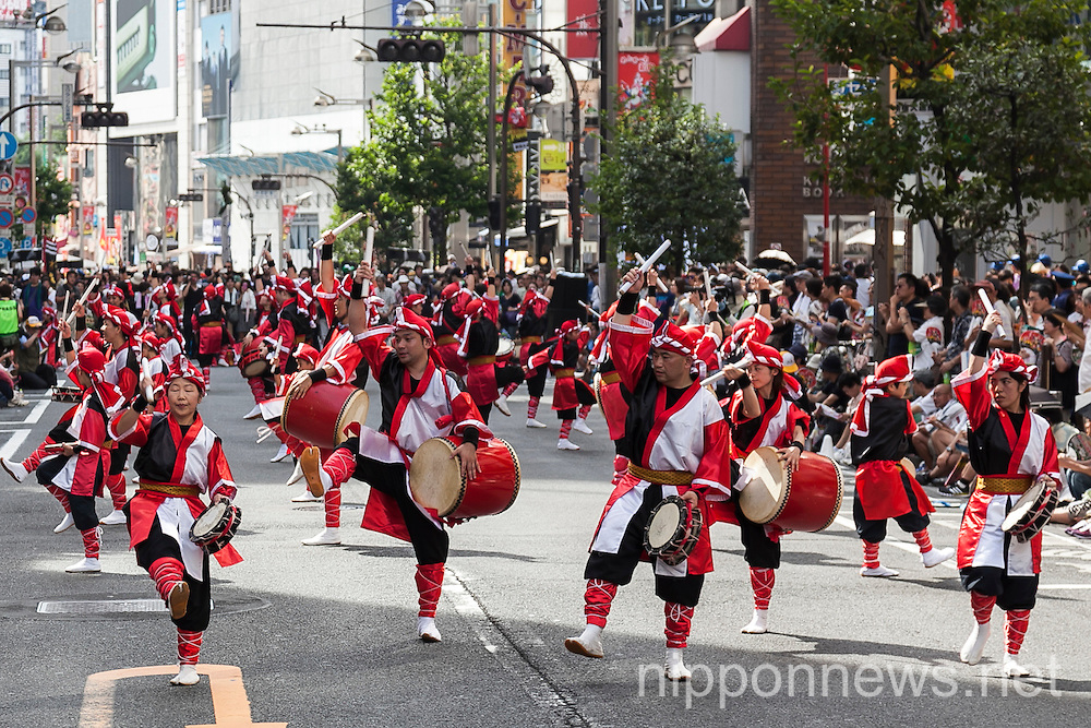 Shinjuku Eisa Festival 2015