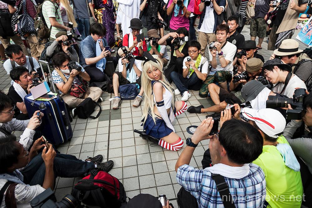 Comiket 88 Summer 2015 in Tokyo Big Sight