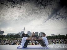 Yoga Festival in Yokohama