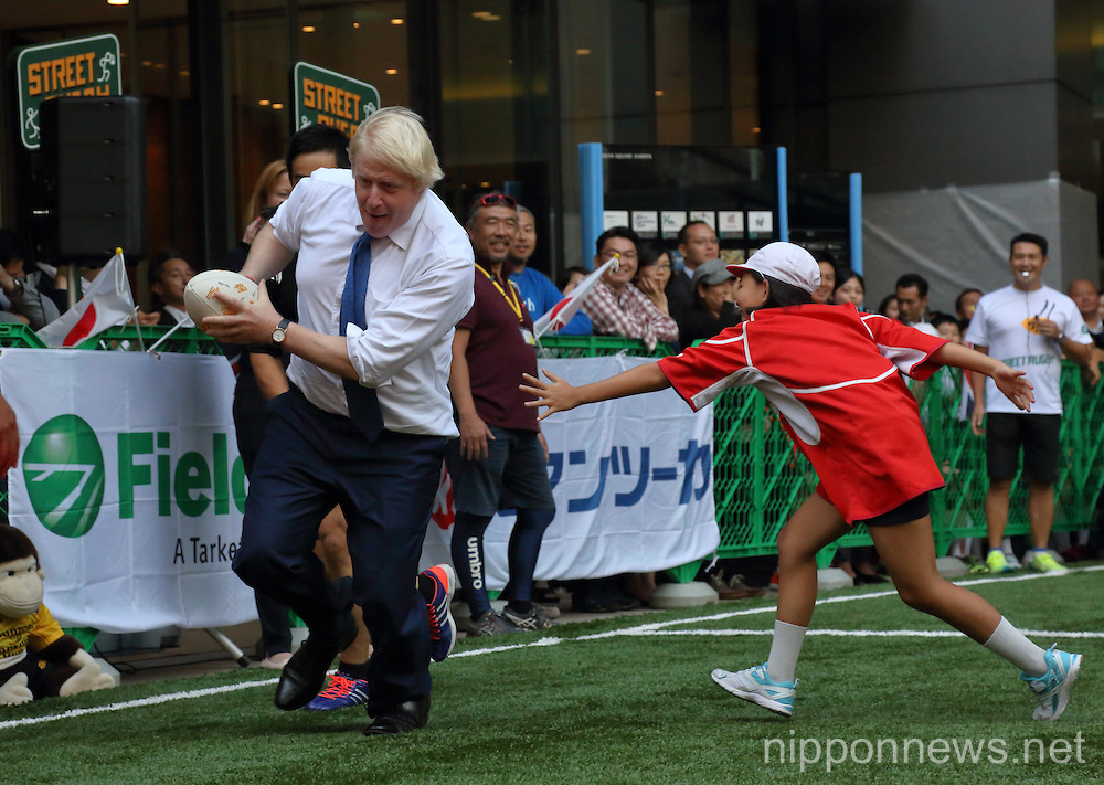 Mayor of London Boris Johnson in Tokyo
