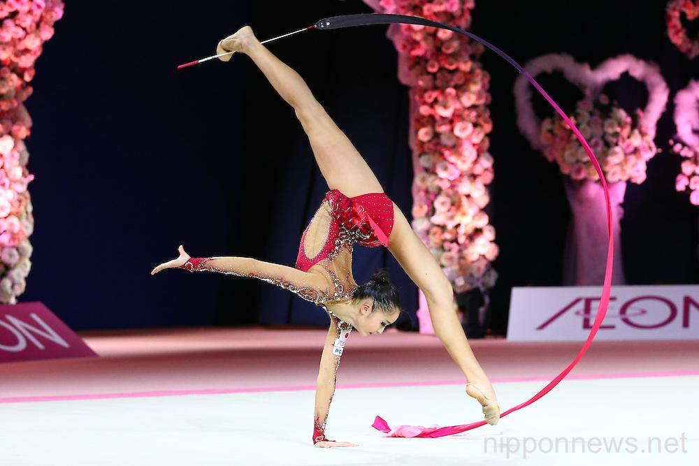 Rhythmic Gymnastics: AEON CUP 2015 Worldwide R.G. Club Championships