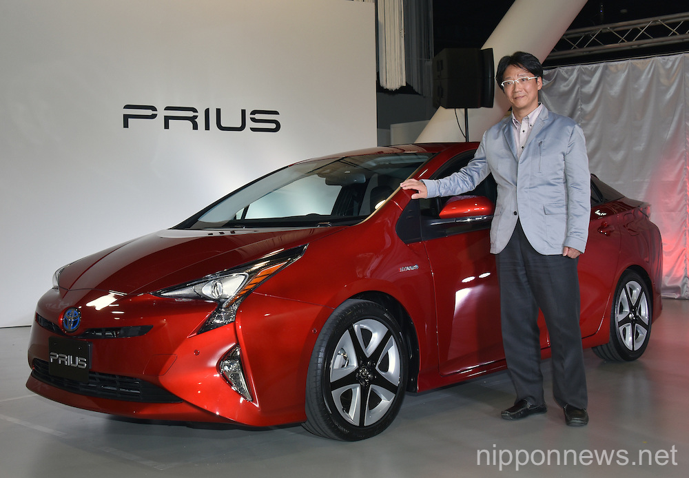 Toyota Introduces Next Generation 2016 Prius Hybrid