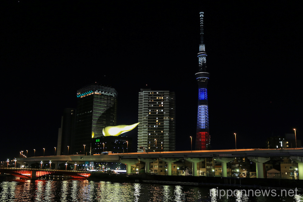 Tokyo Shows Solidarity with Victims of Paris Terrorist Attacks