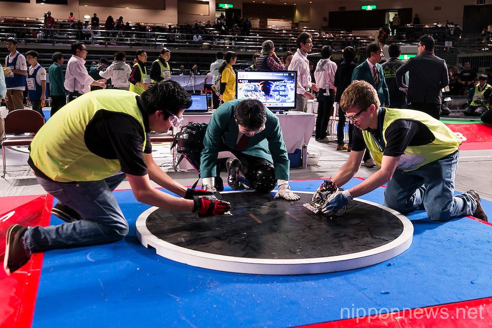 International Robot Sumo Tournament 2015