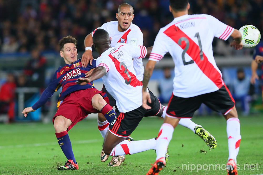 FIFA Club World Cup Japan 2015 (Final Match) - River Plate 0-3 FC Barcelona