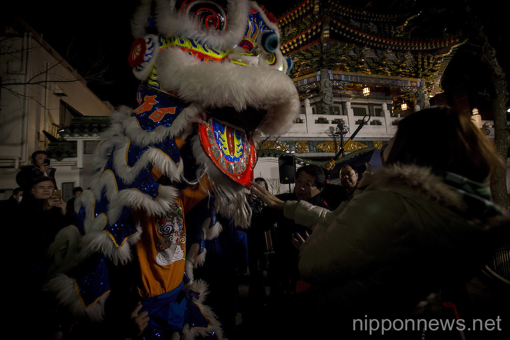 Chinese New Year Celebrations in Yokohama Chinatown
