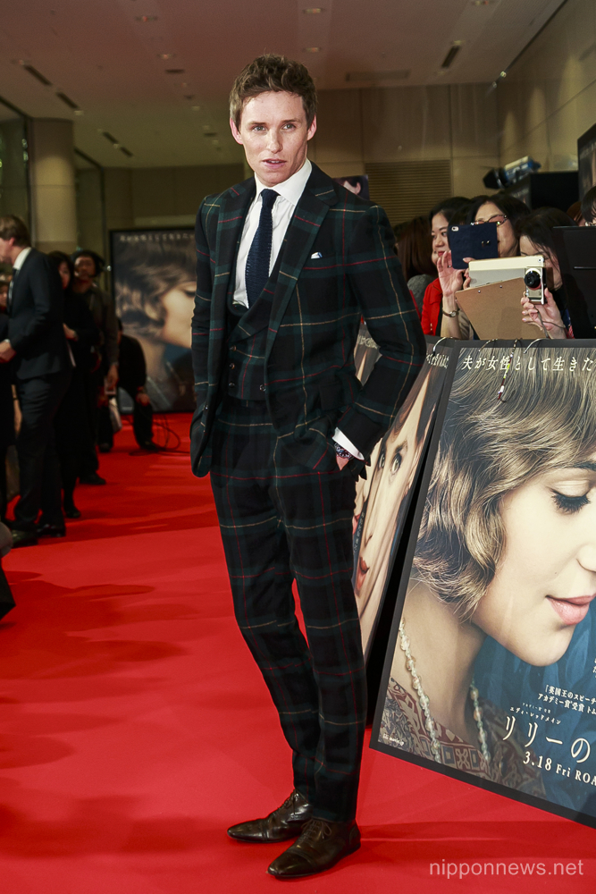 The Danish Girl Japan Premiere
