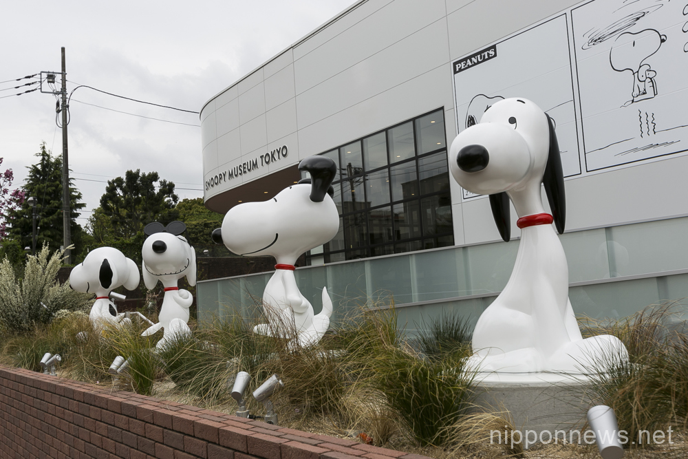 Snoopy Museum Tokyo opens