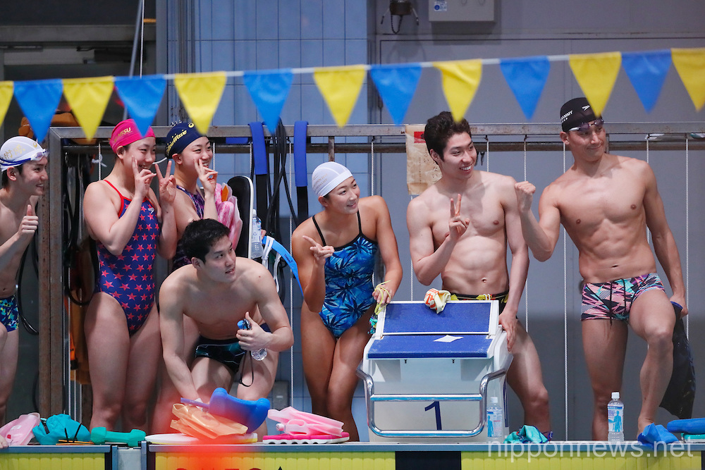 Swimming : Japan national team training session