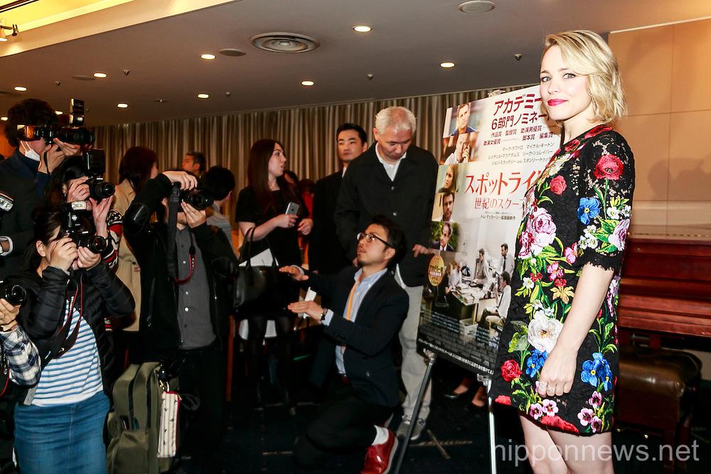 Rachel McAdams in Tokyo