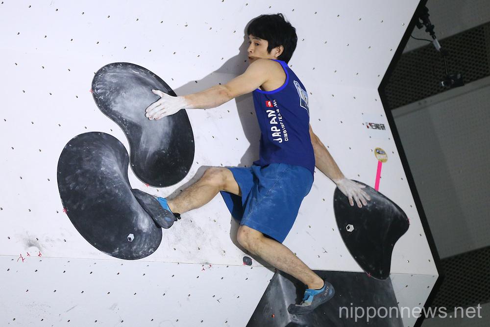 Sports Climbing: IFSC Climbing World Cup - Bouldering Kazo 2016