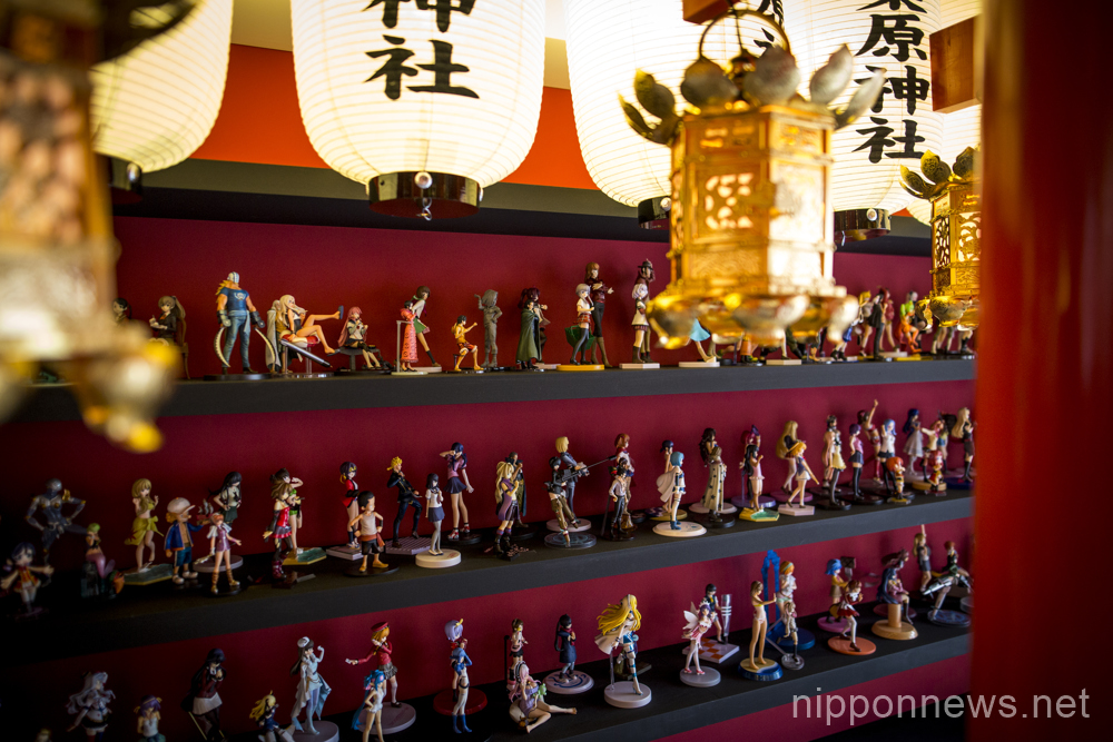 Akihabara Shrine offers memorial services for deceased toy figures