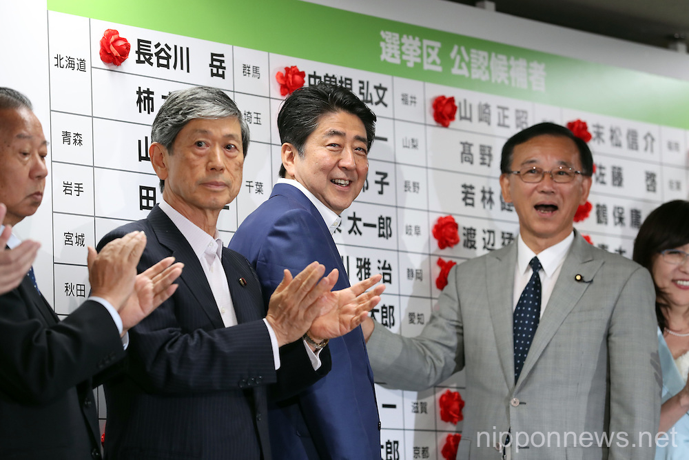 Japan Prime Minister Shinzo Abe's Ruling Coalition Wins Majority in Upper House