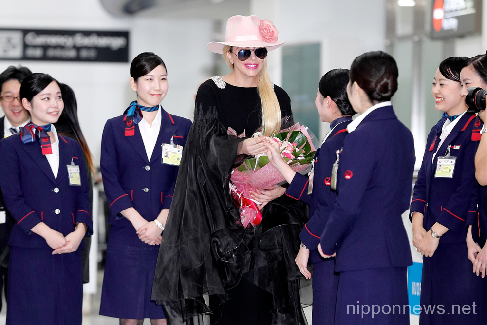 Lady Gaga back in Japan for Joanne