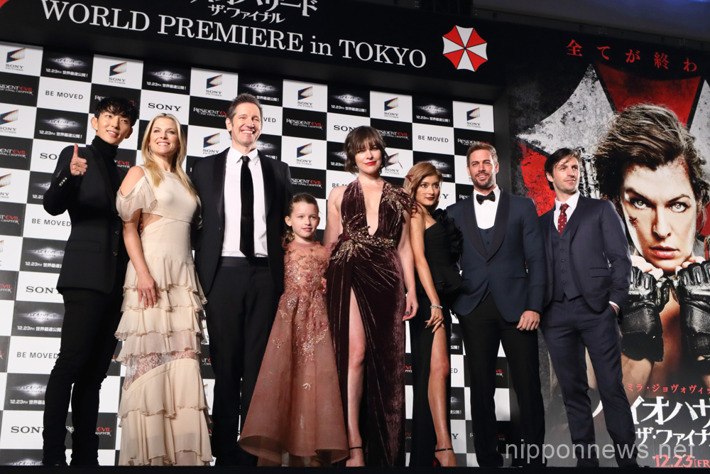 Resident Evil The Final Chapter Premiere In: Resident Evil: The Final Chapter World Premiere In Tokyo