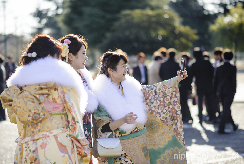Coming of Age Day ceremonies in Japan