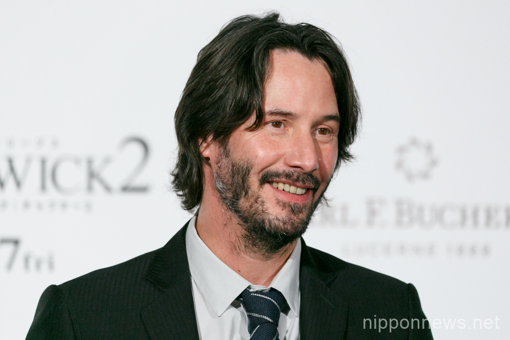 "Keanu Reeves attends ""John Wick: Chapter 2"" Japan Premiere"