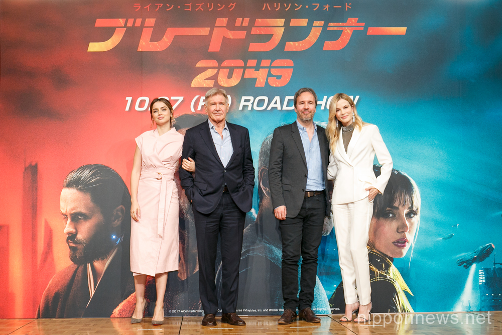 """Blade Runner 2049"" Press Conference in Tokyo"
