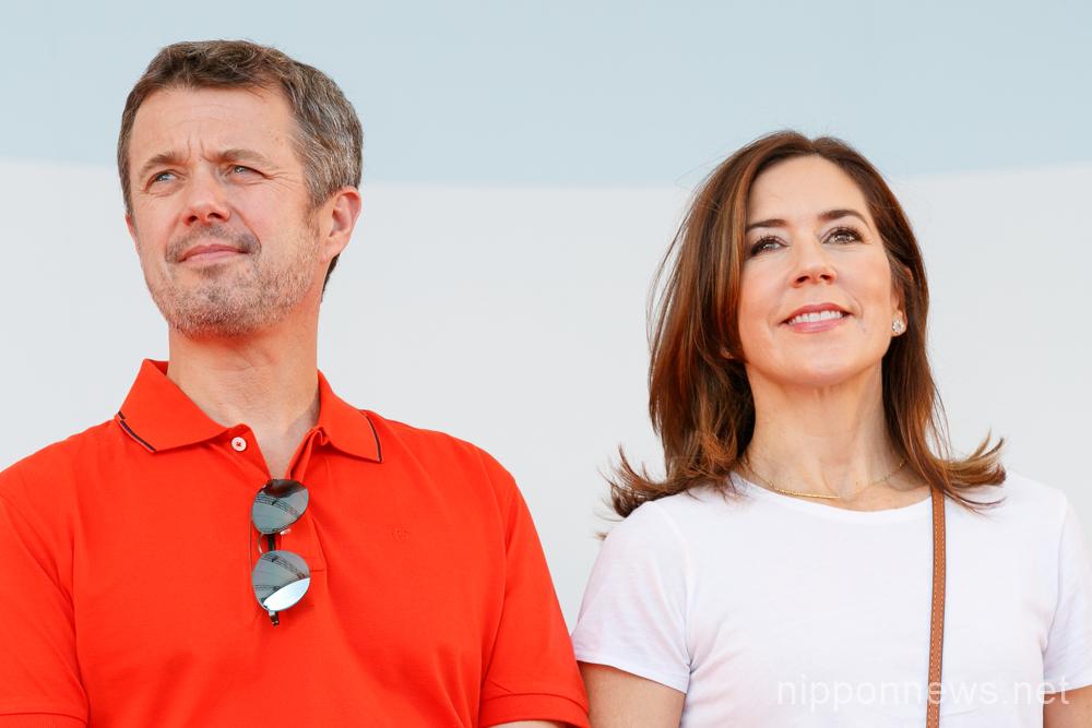 Danish Crown Prince Couple visit Tokyo