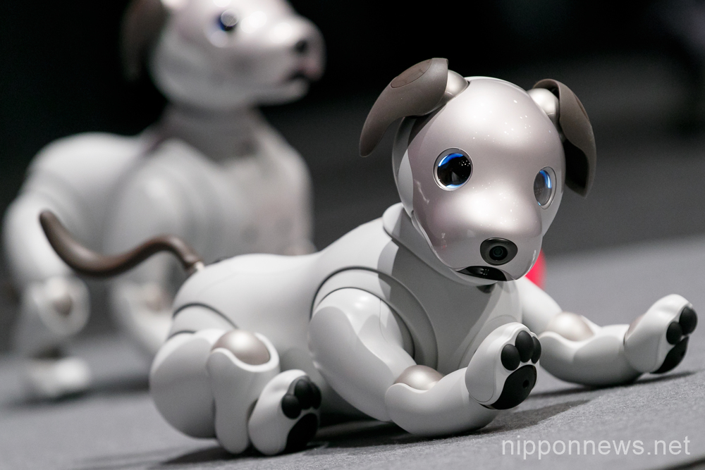 Sony presents new Aibo robot