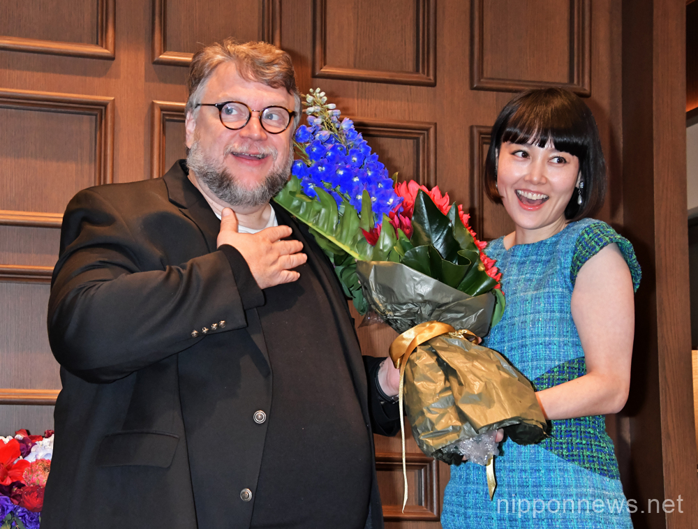 "Press conference for ""The Shape of Water"" in Tokyo"