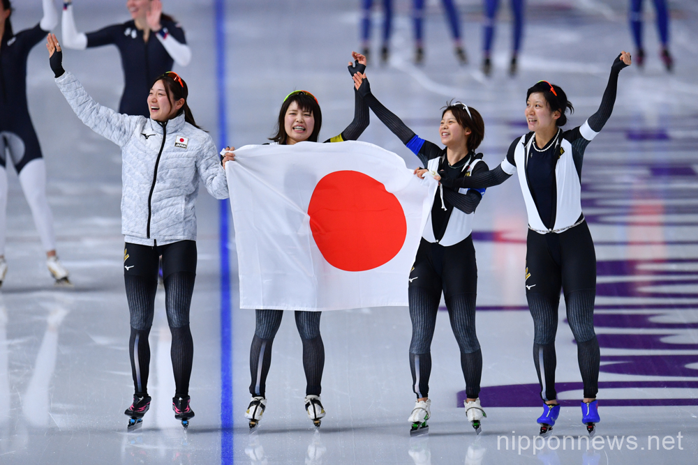 Japan wins gold in Ladies' Team Pursuit, sets Olympic record