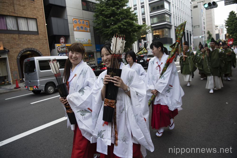 Wakamiya Hachiman-sha Shrine festival in Nagoya