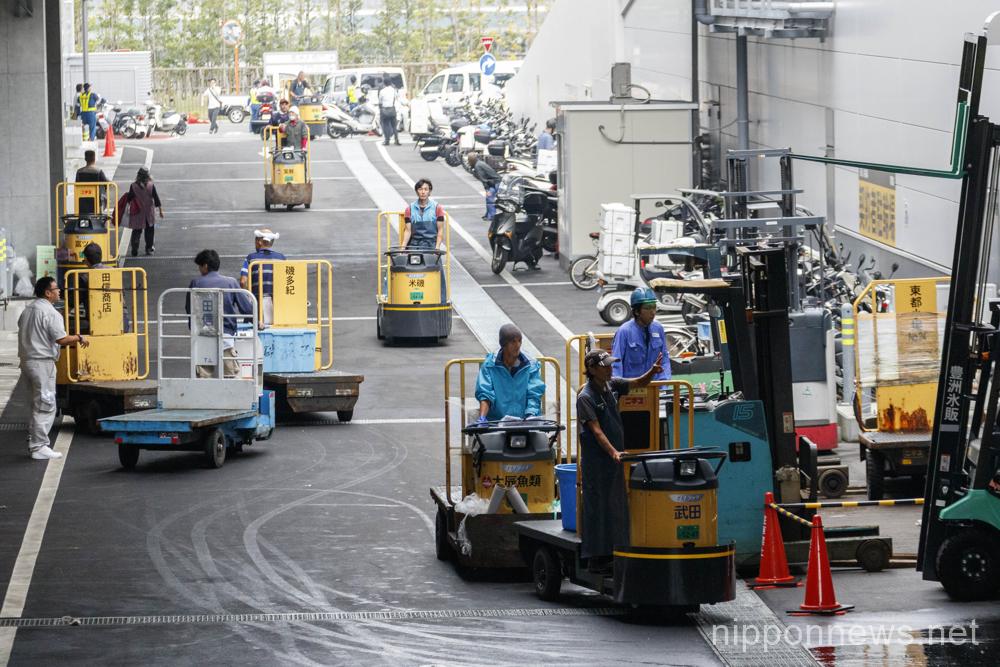 Tokyo's new fish market opens in Toyosu