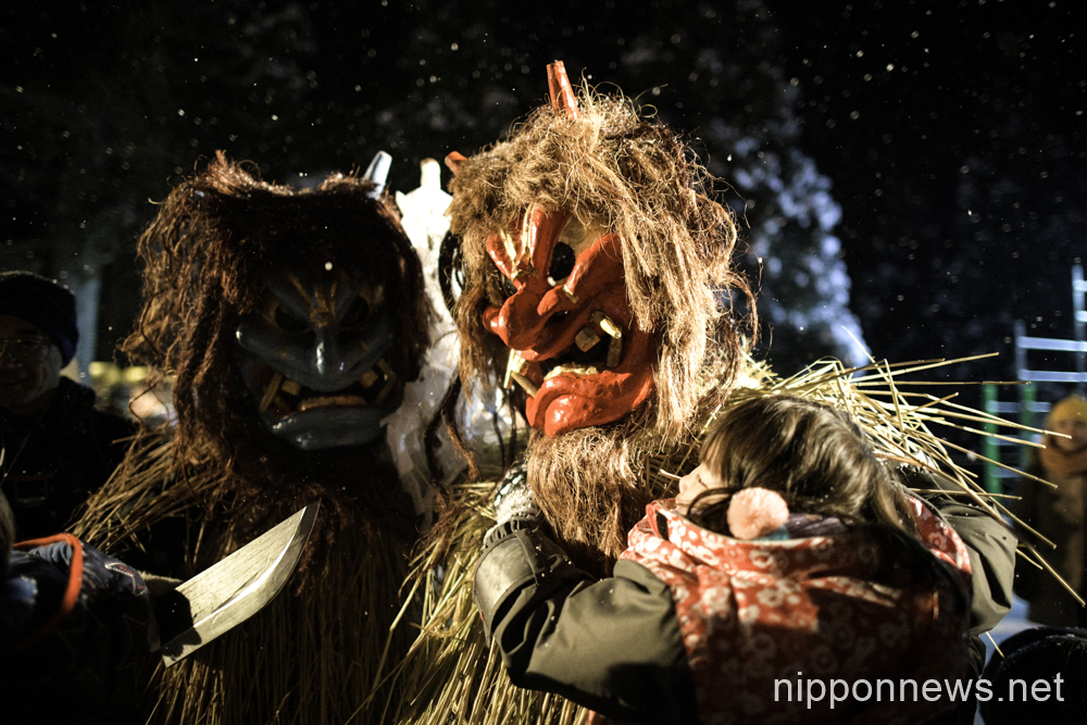 Namahage Sedo Festival at Shinzan Shrine