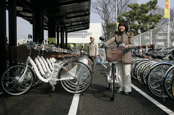 Solar Bike Parking