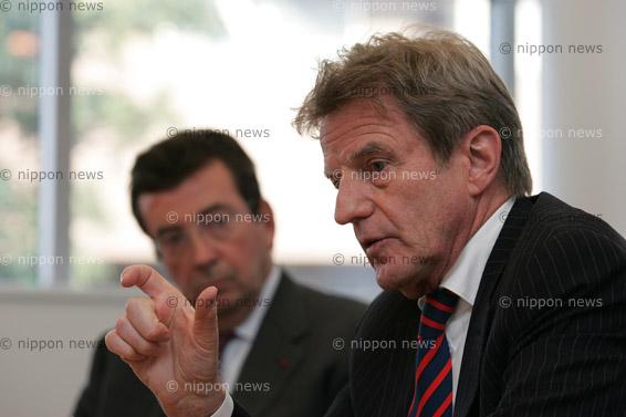 Bernard Kouchner's Japan VisitBernard Kouchner en visite au Japonベルナール・クシュネール外務大臣が日本と韓国を訪問