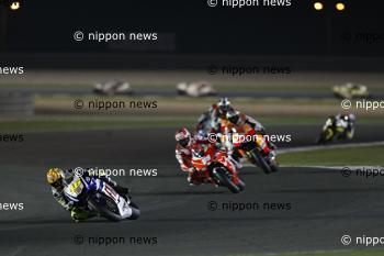 Valentino Rossi triumphs in QatarRossi remporte le Grand Prix du QatarカタールGP, ヴァレンティーノ・ロッシ