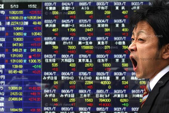 Tokyo stocks riseTokyo stocks rise主要株価指数が軒並み大幅上昇