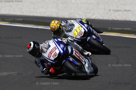 Lorenzo triumphs at Le MansLorenzo triumphs at Le Mansロードレース世界選手権(MotoGP)  第3戦 フランスGP