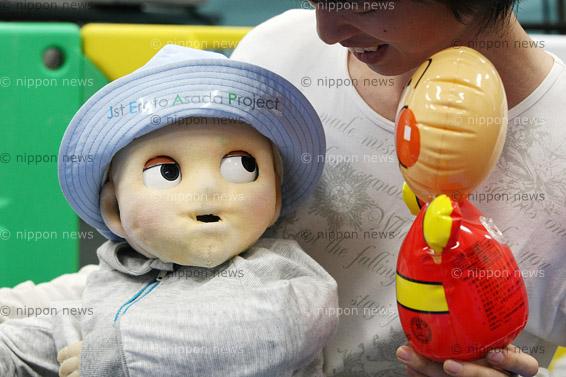 Robot Baby Teaches Parenting SkillsRobot Baby Teaches Parenting Skills人間らしく知能が発達していく生後9か月の赤ちゃんロボット「ノビー」