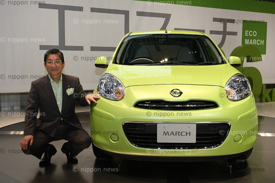 New Nissan MarchNew Nissan March「日産 マーチ 新型発表」100万円を切る価格設定