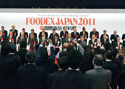 FOODEX JAPAN 2011FOODEX JAPAN 2011フーデックス」が開幕 米国大使も試食に