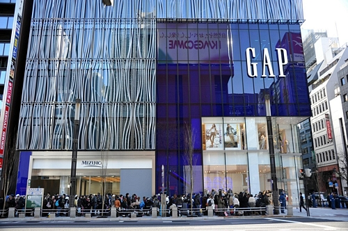 Gap Flagship Store Ginza Opening CeremonyGap Flagship Store Ginza Opening CeremonyGAP、銀座に旗艦店 国内最大店舗をオープン