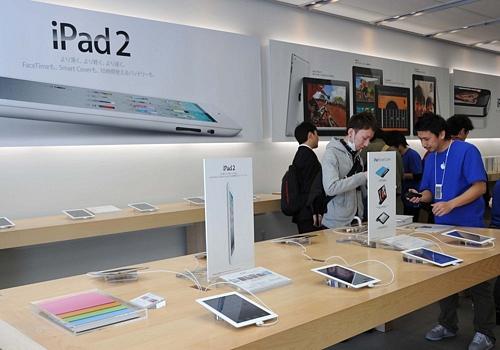 iPad 2 Debut in Tokyo