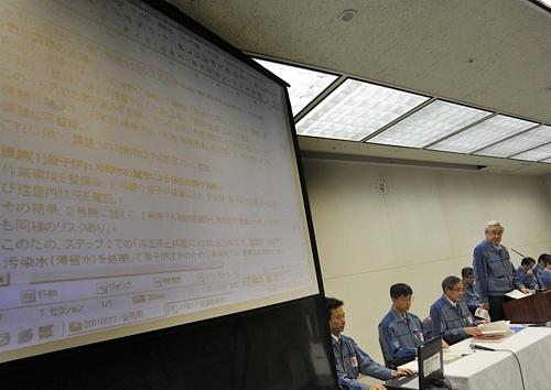 Latest News from TEPCOLatest News from TEPCO福島第1原発事故 東電、工程表を修正