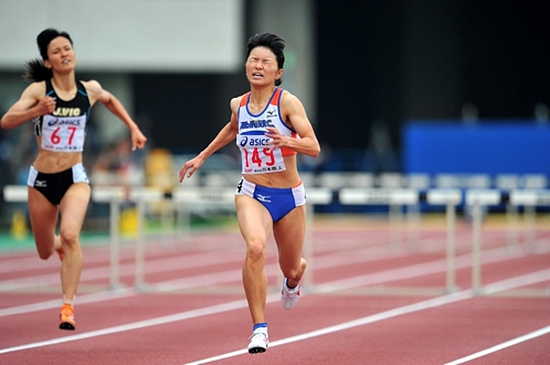 95th Japan Athletics National Championships Saitama 201195th Japan Athletics National Championships Saitama 2011日本陸上選手権 女子400mHは久保倉が5連覇