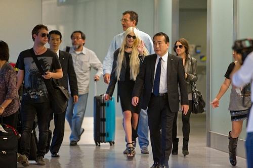 Taylor Momsen Arrives in TokyoTaylor Momsen Arrives in TokyoTaylor Momsen Arrives in Tokyo