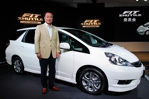Honda Launches New Fit ShuttleHonda Launches New Fit Shuttleホンダから新型ワゴン 「フィットシャトル」発売