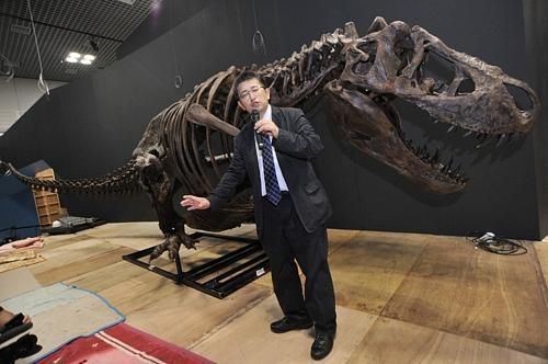 Dinosaurs Expo 2011Dinosaurs Expo 2011上野にティラノザウルス 「恐竜博2011」準備始まる